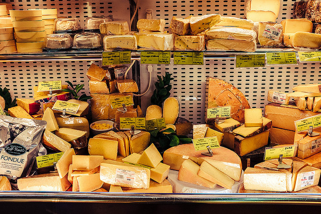 Varios quesos