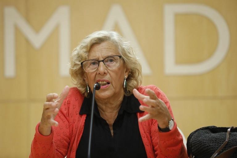 La alcaldesa de Madrid ofrece rueda de prensa sobre su candidatura a las elecciones Marta Fernu00e1ndez Jara