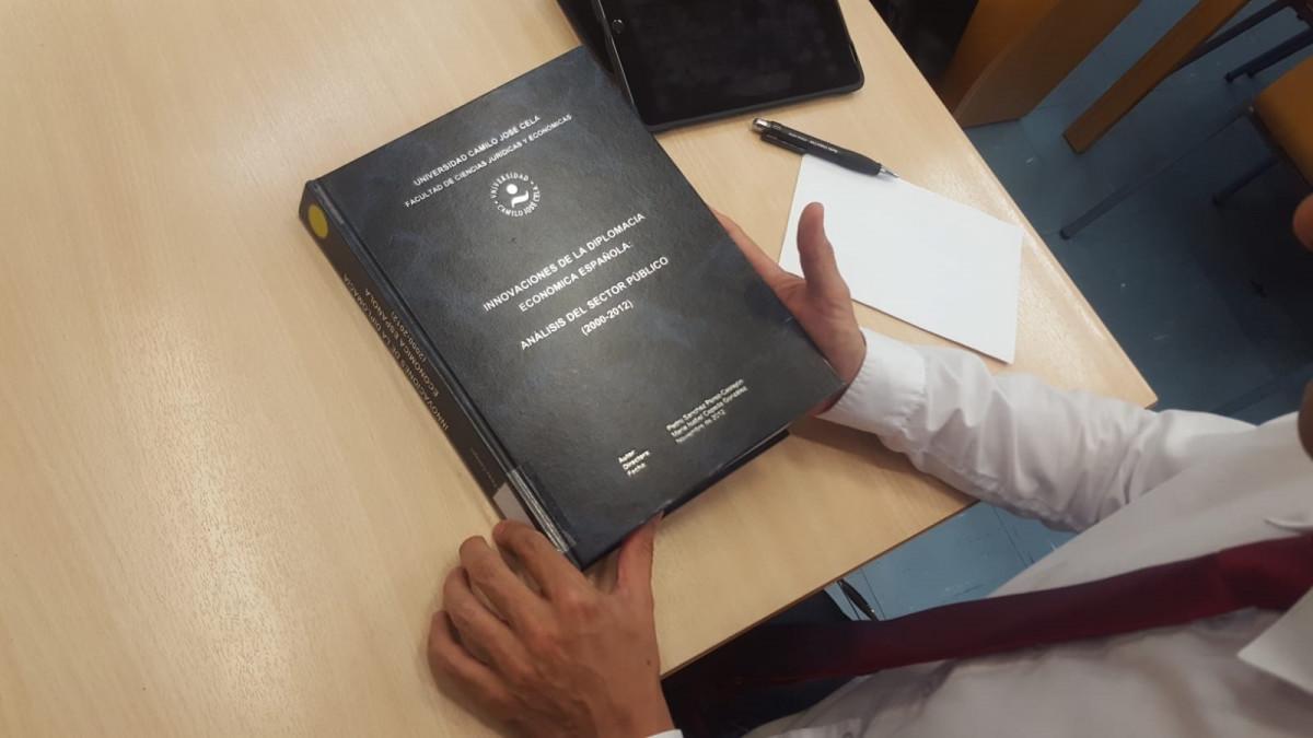 Tesis doctoral de Pedro Su00e1nchez en la Universidad Camilo Josu00e9 Cela
