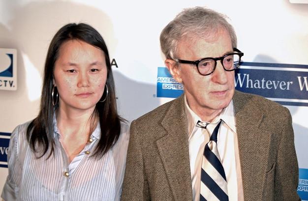 u200bSoon Yi Previn y Woody Allen