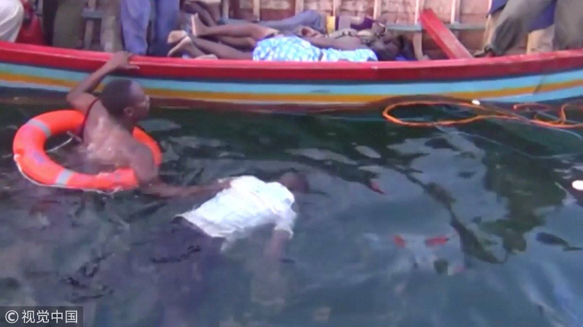 Tragedia Lago Victoria en Tanzania