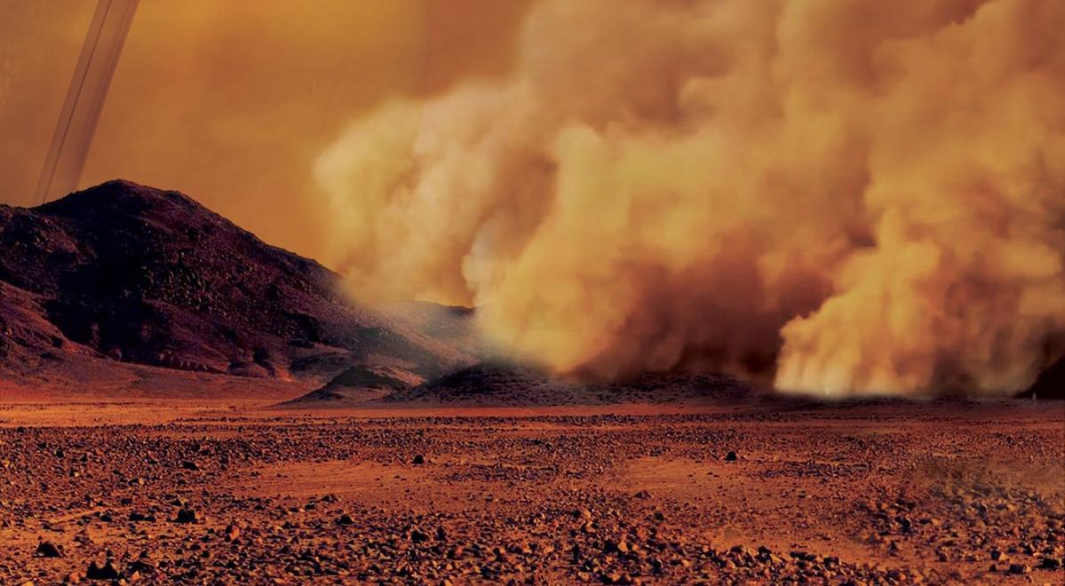 Tormenta de arena en Titu00e1n
