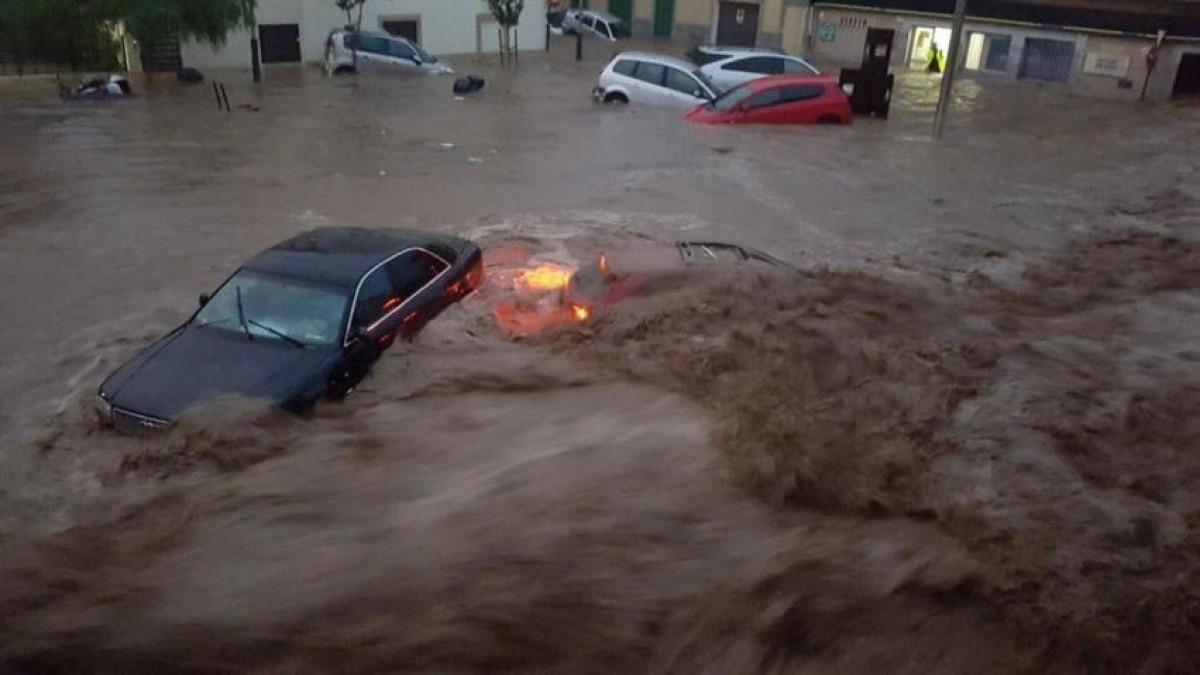 Lluvias torrenciales en Mallorca