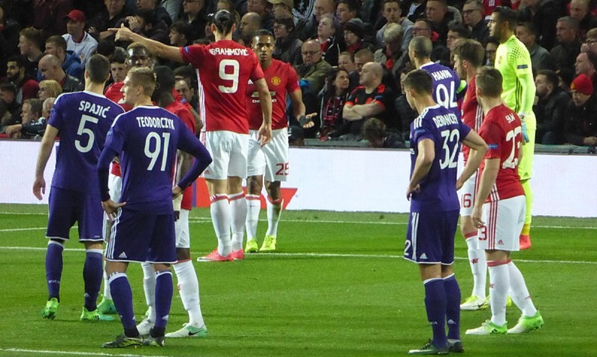 Manchester United v RSC Anderlecht, 20 April 2017. CC