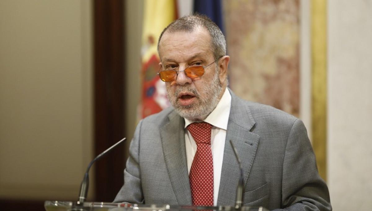 Intervenciu00f3n en el Congreso del Defensor del Pueblo Francisco Fernu00e1ndez Marugu00e1n