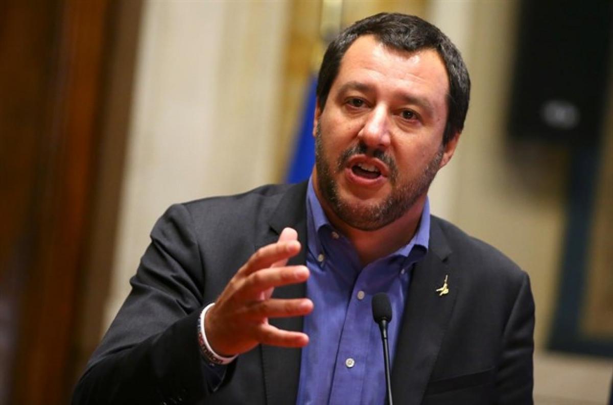 El primer ministro de Italia, Matteo Salvini
