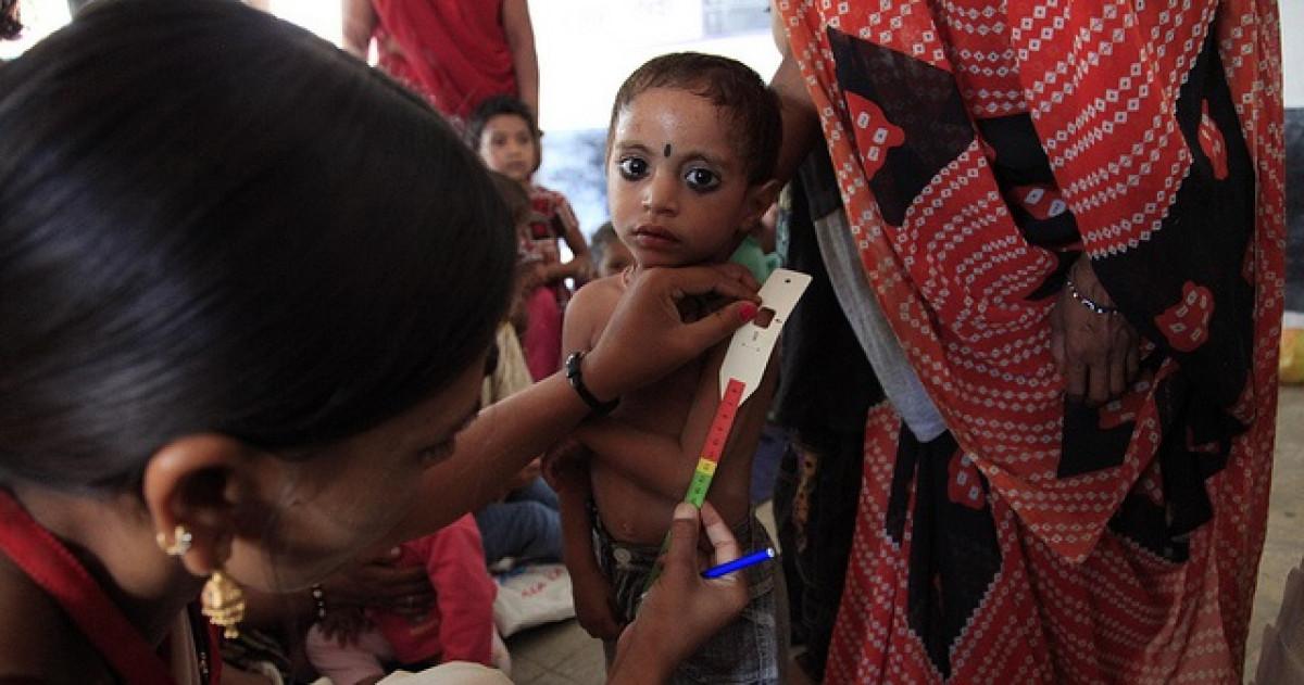 Measuring for malnutrition in Madhya Pradesh