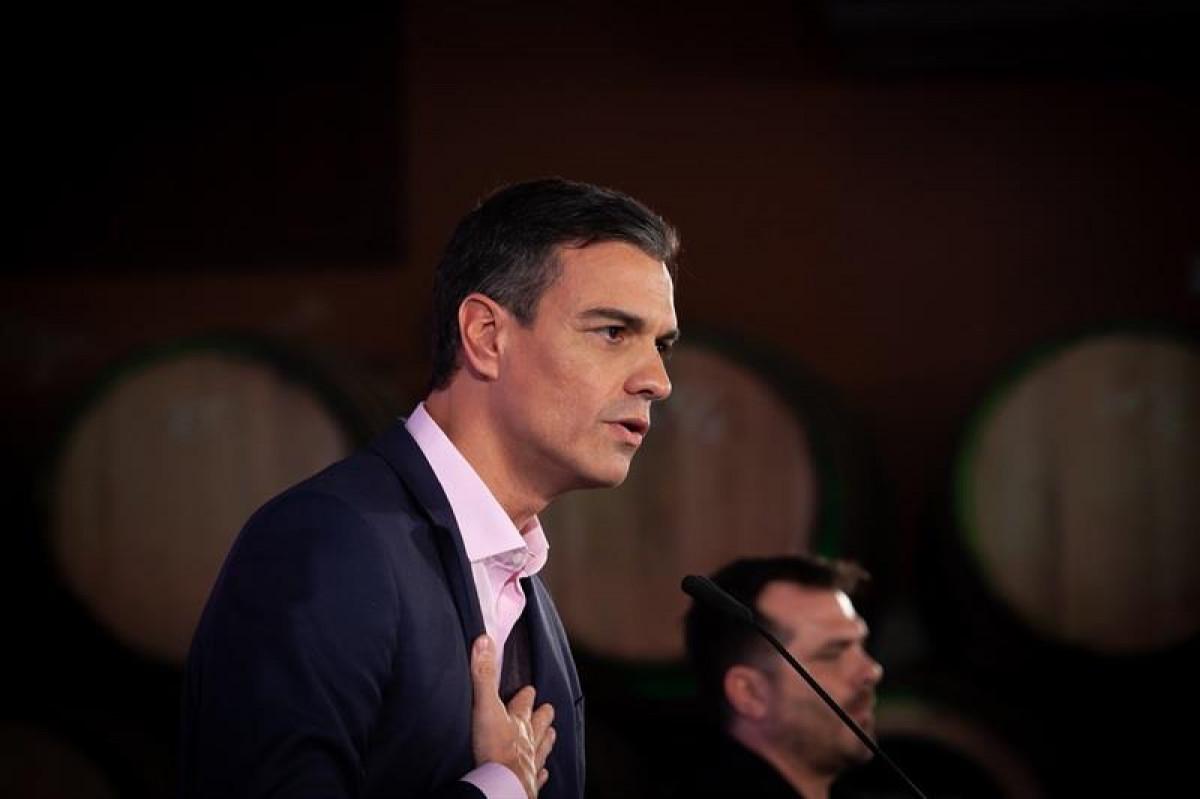 Pedro Sánchez en Cádiz