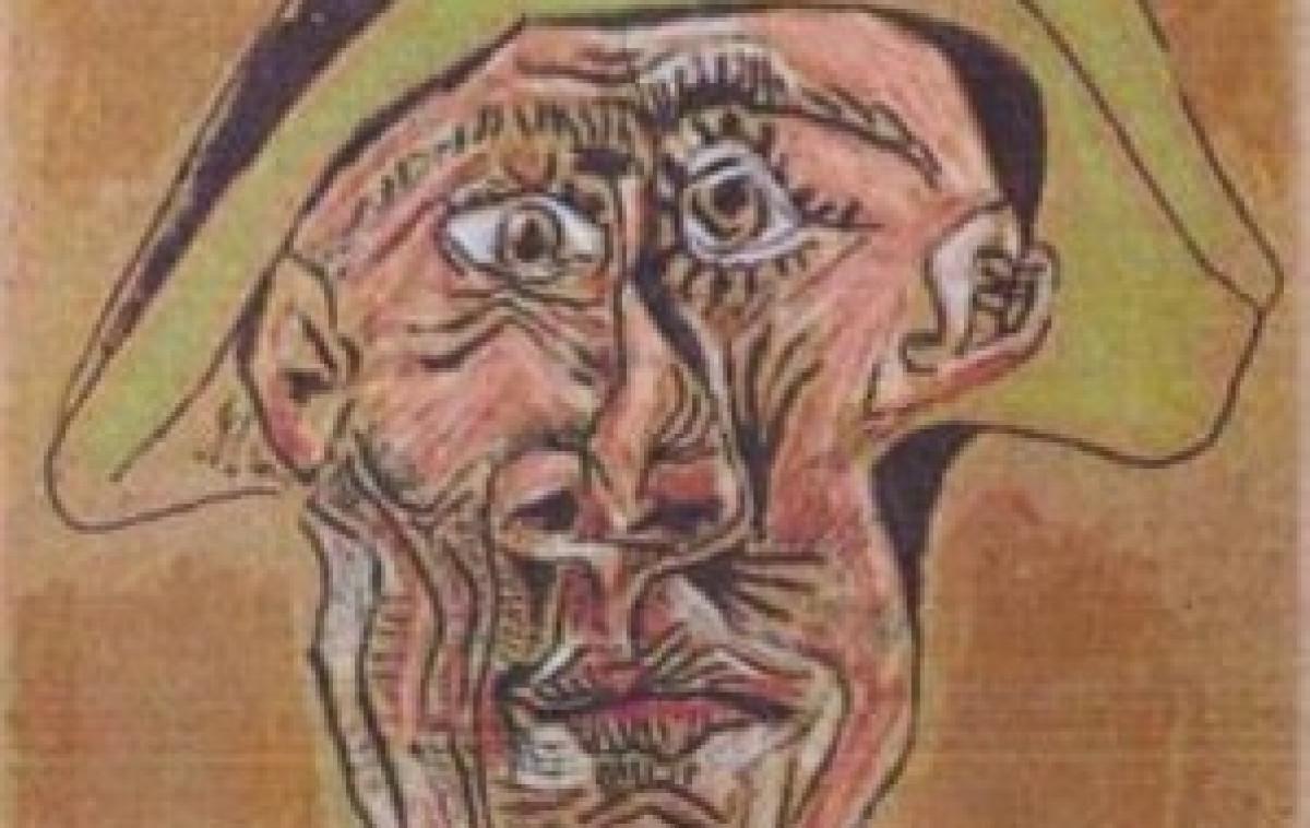 Cabeza de Arlequin, de Picasso