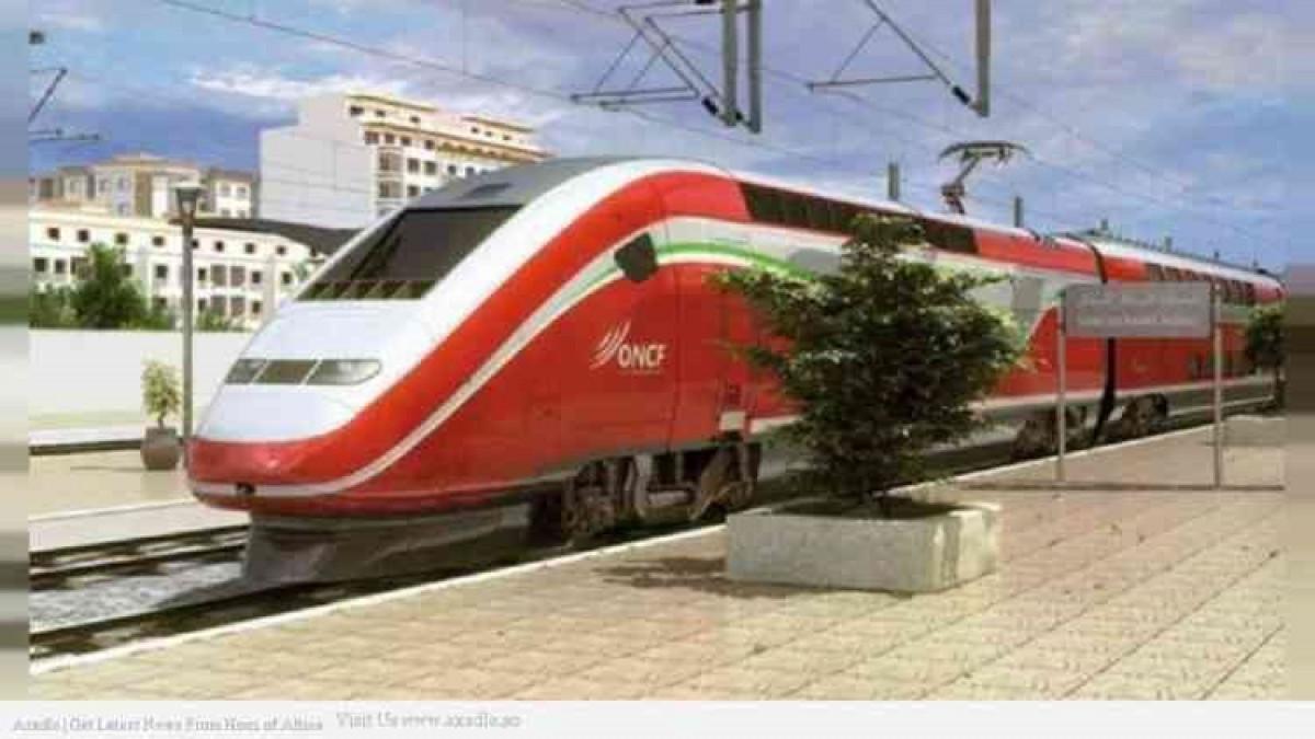 Tren de alta velocidad en Marruecos