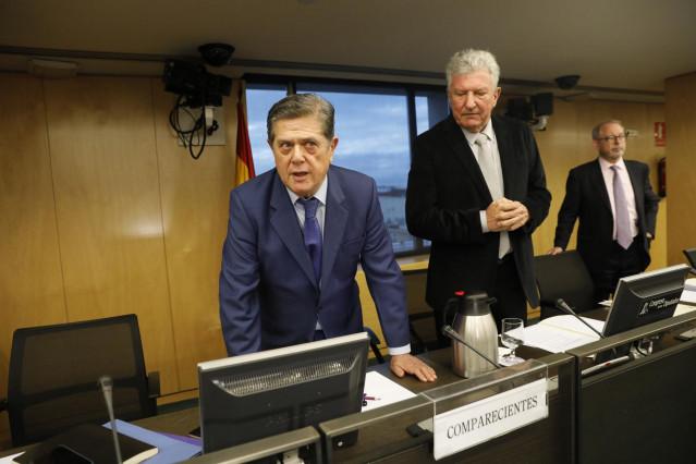 Federico Trillo y Jaume Matas comparecen en Comisión de Investigación relativa a