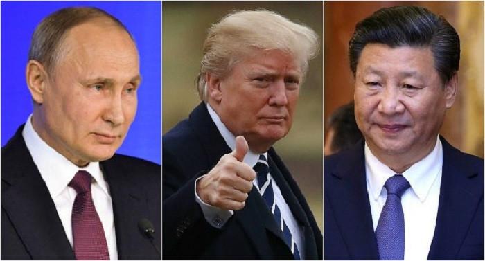 Vladimir Putin Donald Trump Xi Jinping