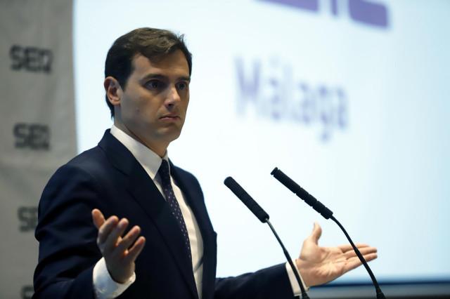Albert Rivera, presidente del Cs