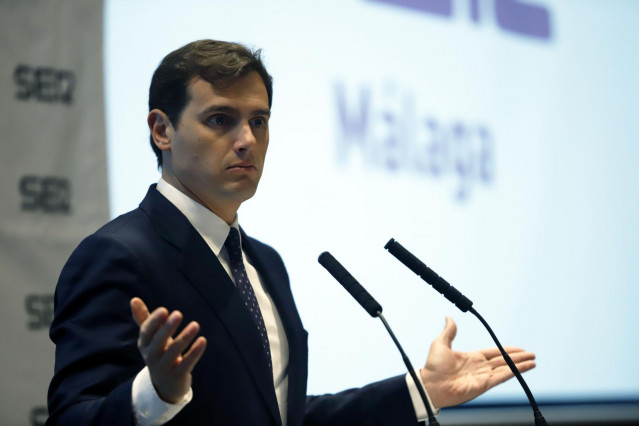 Albert Rivera, presidente del Cs