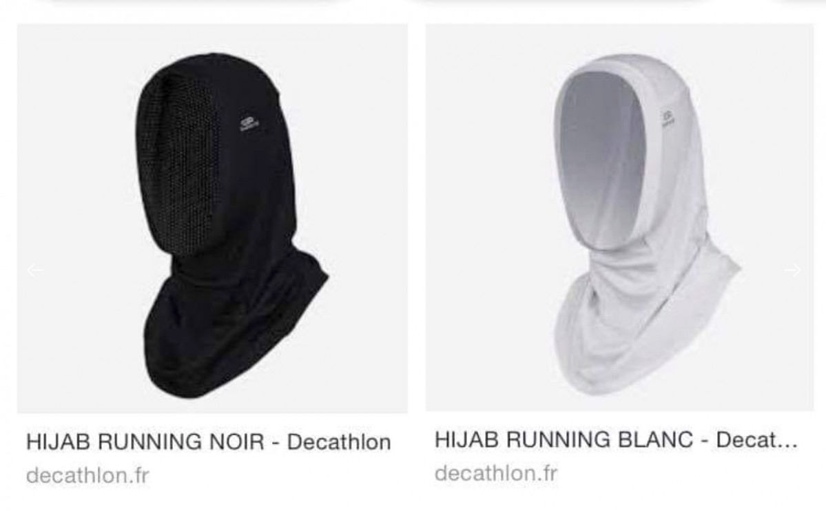 Hijab de Decathlon