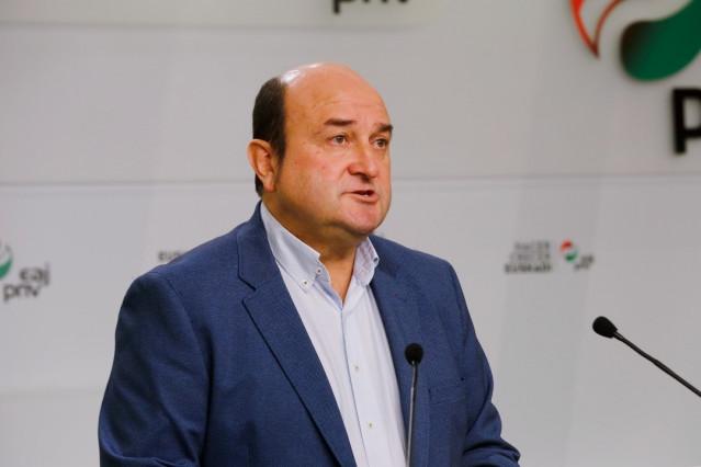 El presidente del EBB del PNV habla sobre la manifestación del domingo