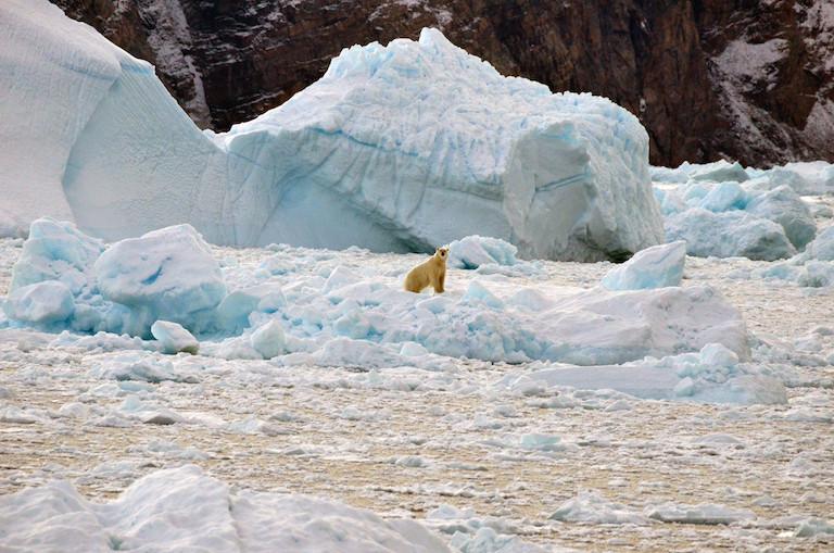 Groenlandia, deshielo, calentamiento global