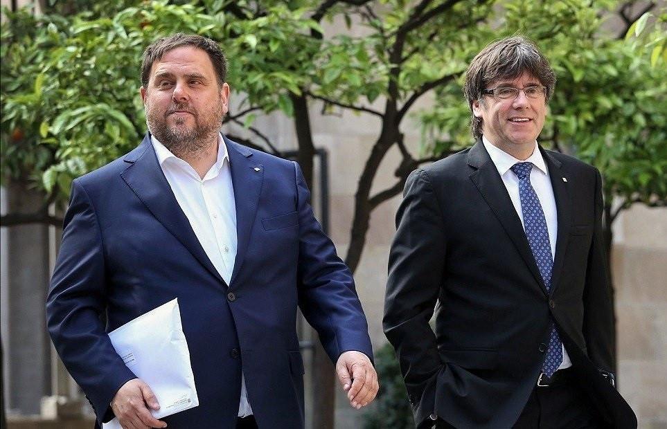 26M.- Puigdemont y Junqueras se disputan el liderazgo del independentismo en las europeas