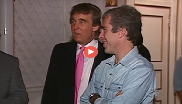Un video de 1992 muestra a Trump y Epstein divirtiéndose con animadoras en una fiesta video