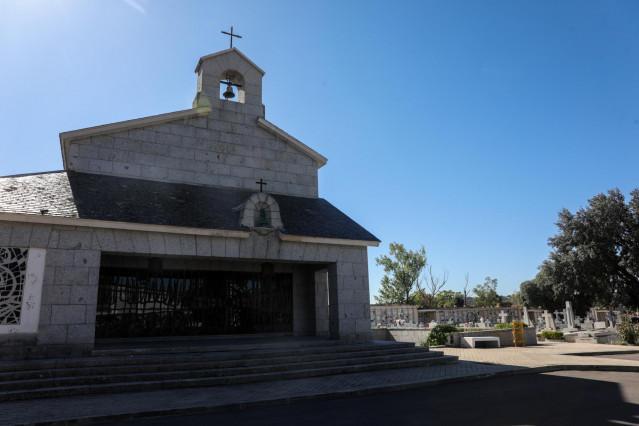 El panteón de Mingorrubio donde serán enterrados los restos del dictador Francisco Franco.