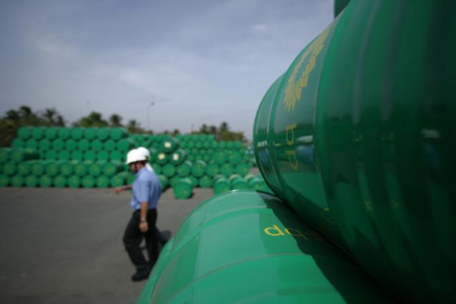 Almacén de productos de la petrolera BP en Vietnam