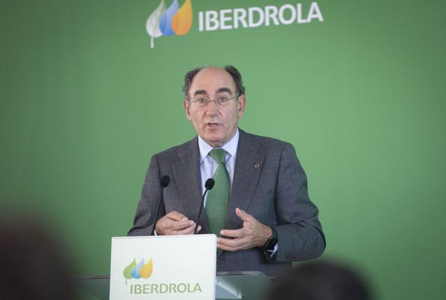 Archivo - El presidente de Iberdrola, Ignacio Sánchez Galán,