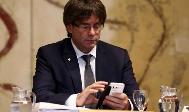 Puigdemont movil
