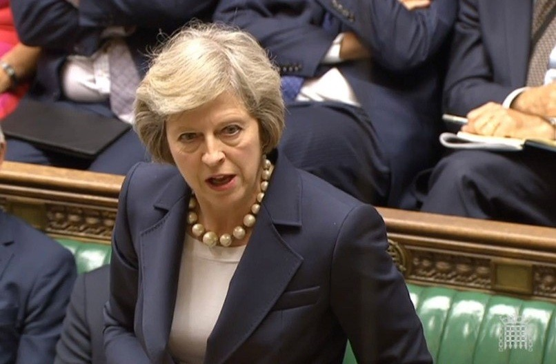 Theresa may house of commons 16042018