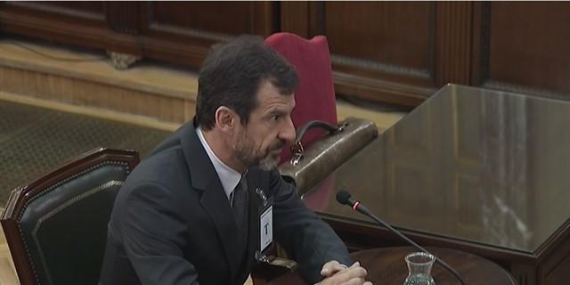 Ferran lopez en el juicio del proces