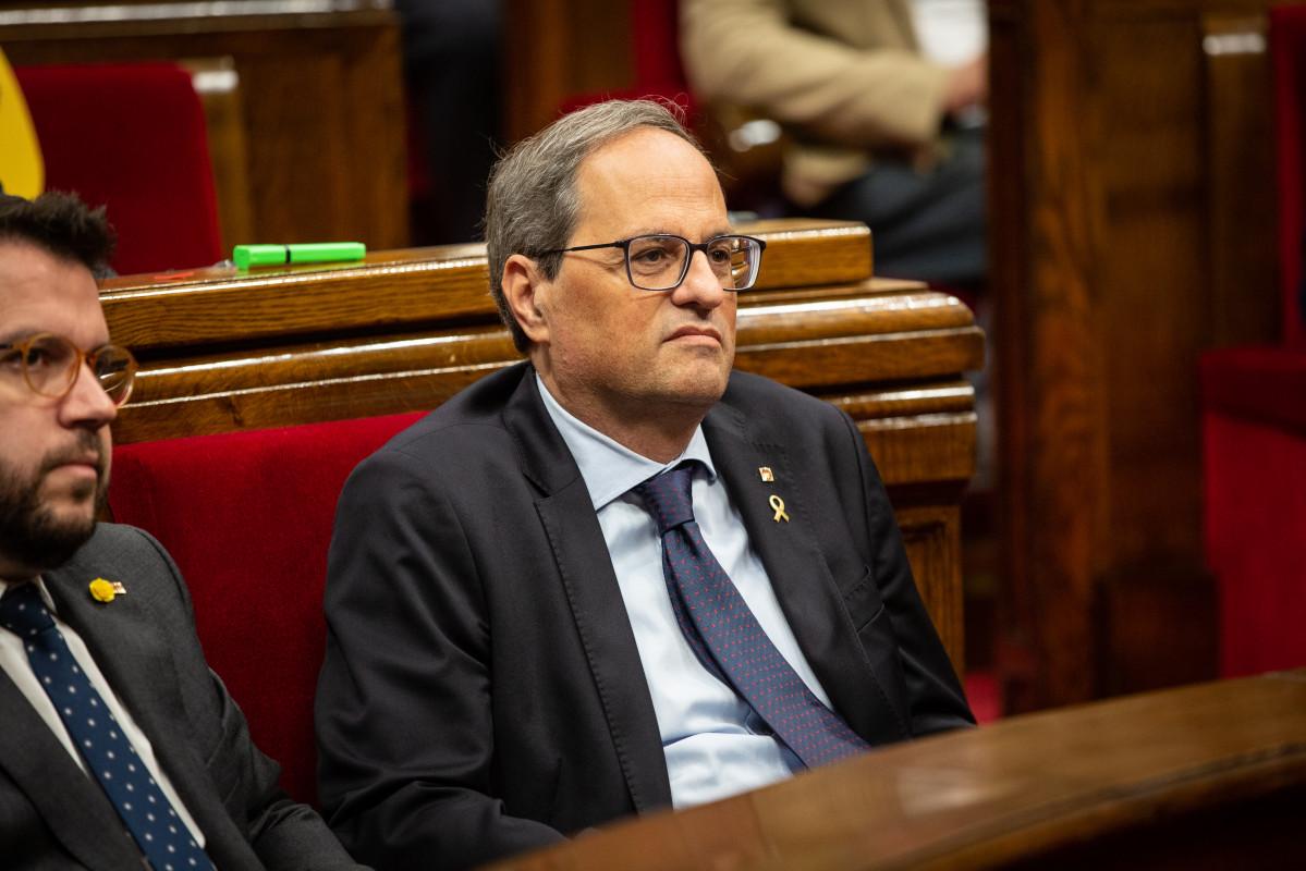 Torra propone volver a ejercer la autodeterminaciu00f3n en esta legislatura
