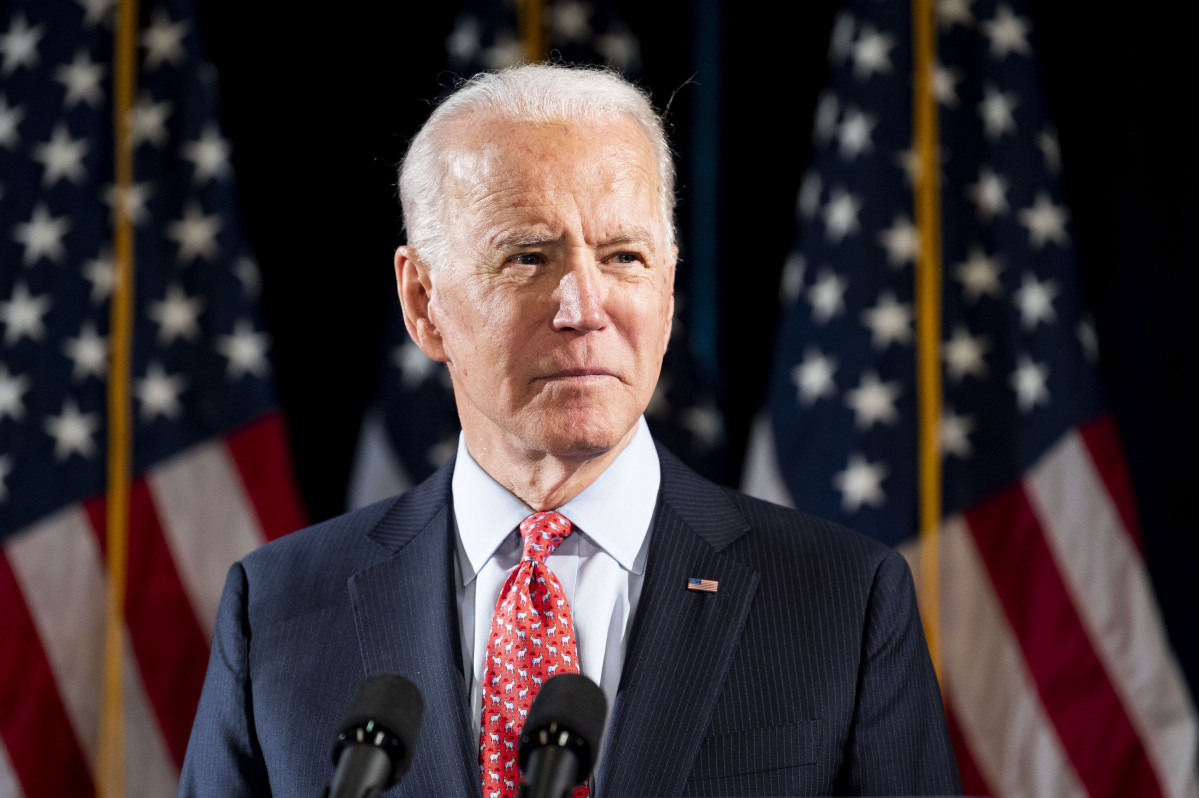 L'exvicepresident dels Estats Units Joe Biden.